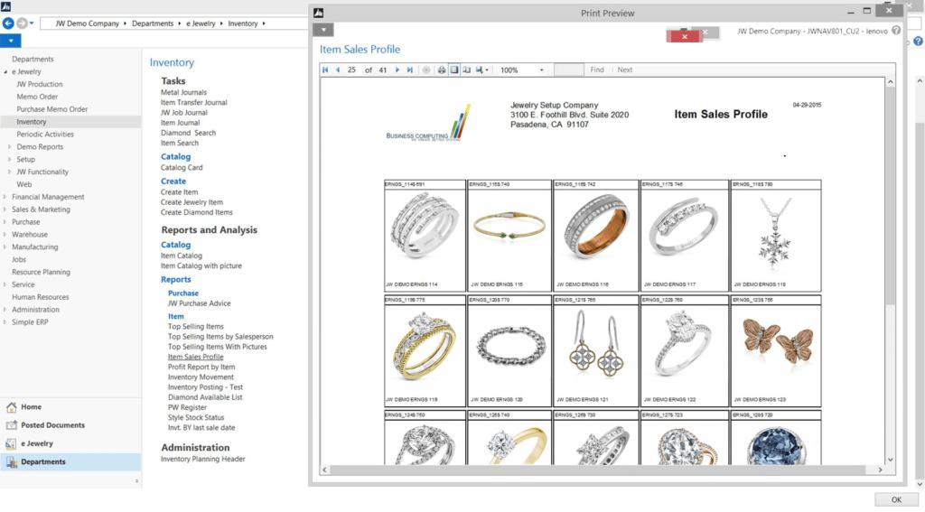items-sales-profile
